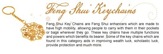 Feng Shui Key Chain