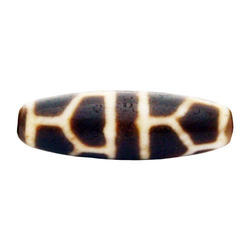 Turtle Shell dZi Bead