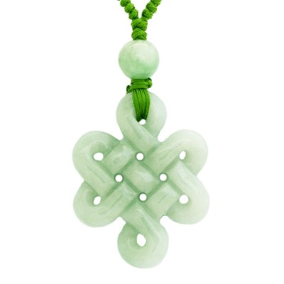 Jade mystic knot necklace jade mystic knot necklace mozeypictures Image collections