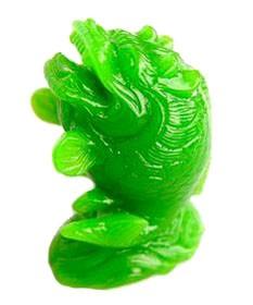 Auspicious Dragon Carp Green