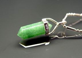 Aventurine Point Pendant for Academy Luck