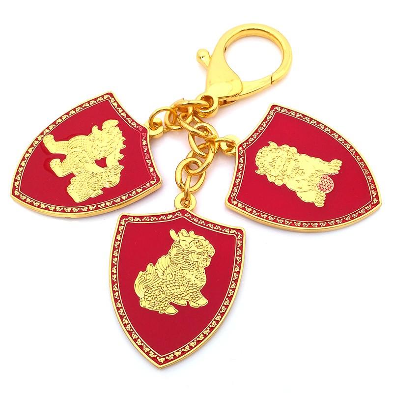 3 Celestial Shield Portable Amulet