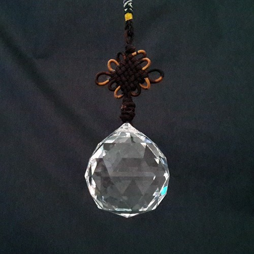 40mm Facetted Hanging Crystal Ball