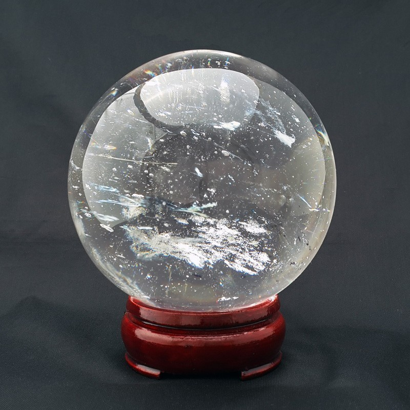 80mm Clear Crystal Sphere
