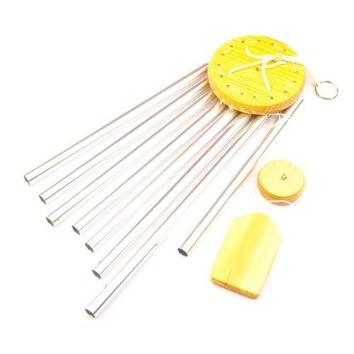 8-Rod Metal Wind Chime - Medium