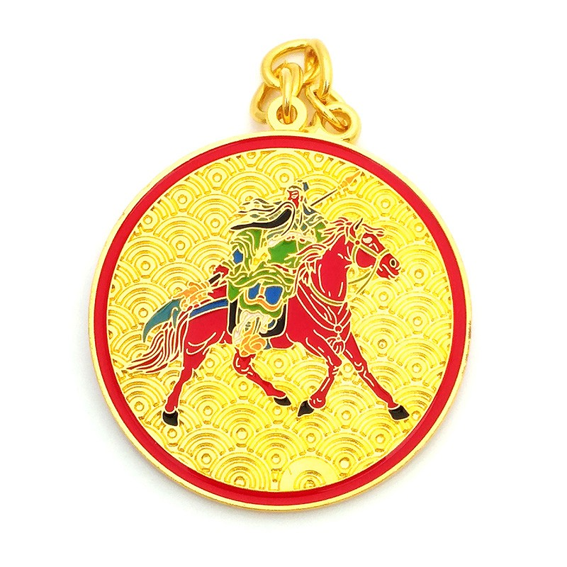Kuan Kung On Horseback Anti-Betrayal Amulet