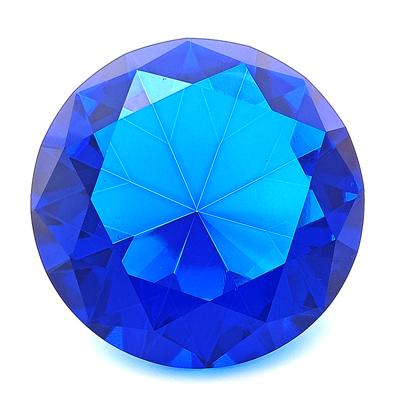 Blue Wish Fulfilling Crystal for Healing Energies - 60mm