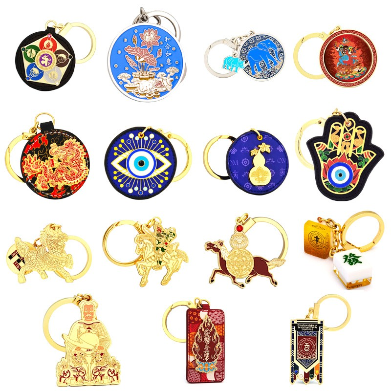 Feng Shui Lucky and Protective Amulets Keychains 2020