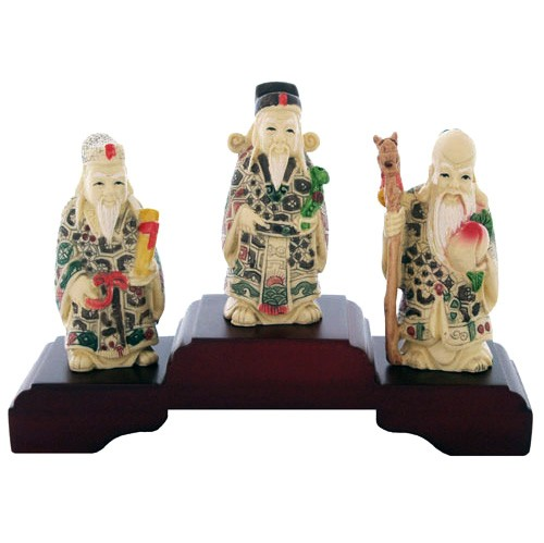 The Three Star Gods Fuk Luk Sau