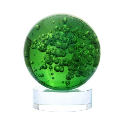 Green Crystal Ball for Growth and Expansion
