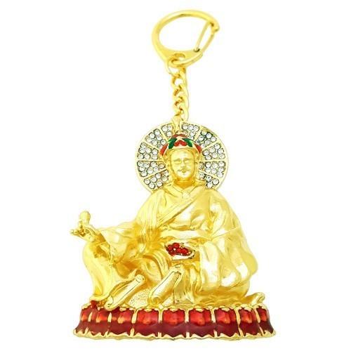 Guru Rinpoche Amulet Keychain