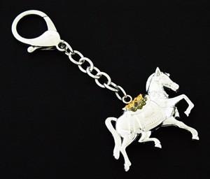 Bejeweled Tribute Horse Keychain