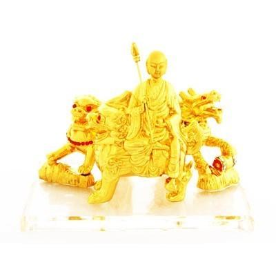 Ksiddigarbha with Three Celestial Protectors