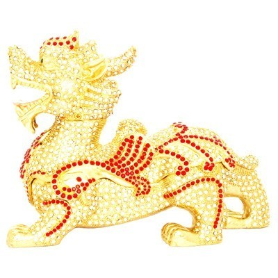 Bejeweled Golden Flying Pi Yao