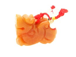 Pi Yao Tassel for Wealth and Protection - Agate Crystal
