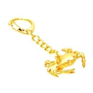 The Golden Crab Keychain