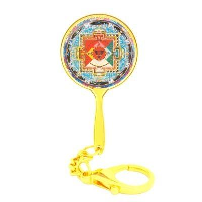 Inner Celestial Mansion of Avalokiteshvara Mirror Keychain