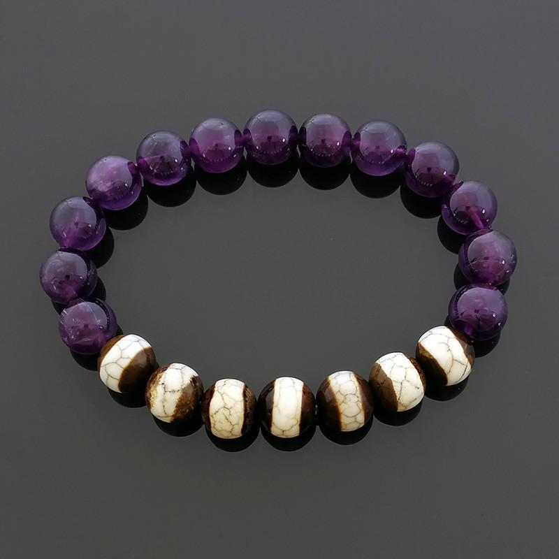 The Medicine Buddha Dzi Beads Bracelet
