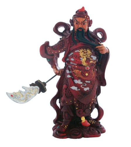 Standing Kwan Kung for Wealth and Protection
