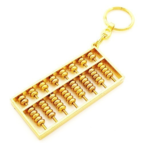 Abacus Keychain