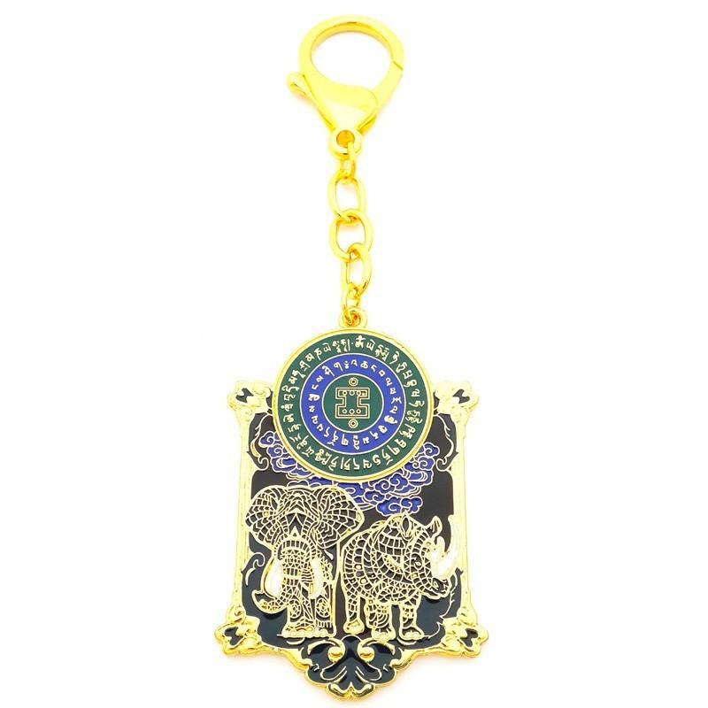 Anti-Burglary Amulet Keychain 2018