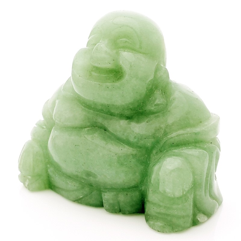 Natural Aventurine Laughing Buddha of Wealth and Success ( Special Offer )
