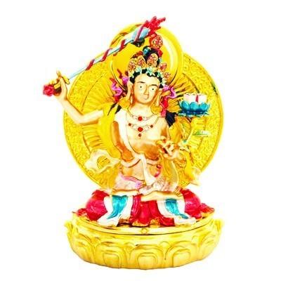 Bejeweled Manjushri