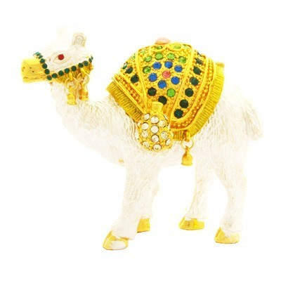 Bejeweled Camel for Financial Gain