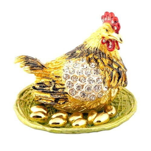 Bejeweled Rooster