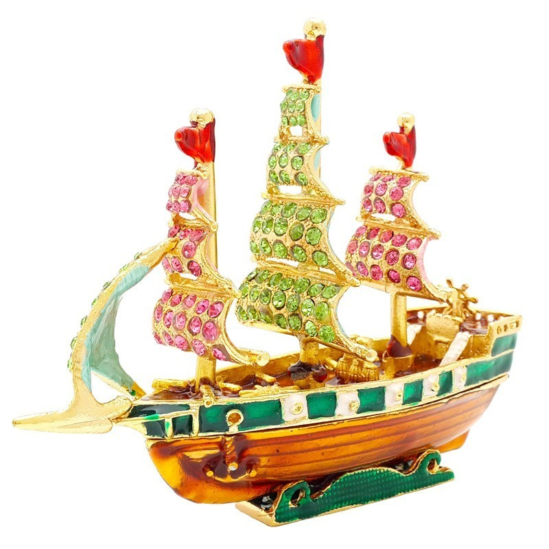 Bejeweled Merchant Wealth Ship