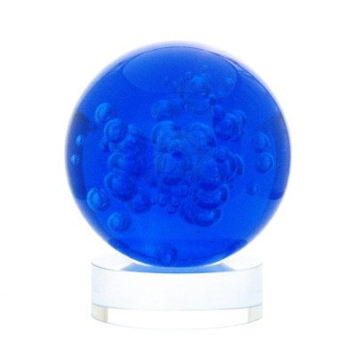 BLUE Crystal Ball for Healing Energies