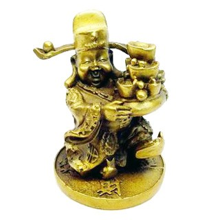 Bronze Chai Shen Yeh ( God of Wealth )