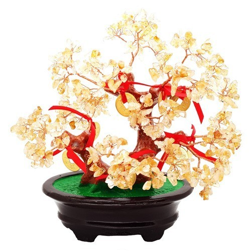 Feng Shui Citrine Tree for Great Wealth Luck
