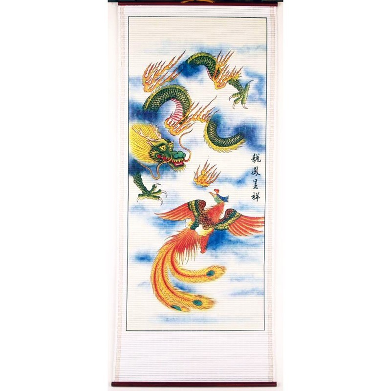 The Dragon and Phoenix Scroll