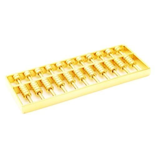 Golden Abacus for Financial Luck - MEDIUM