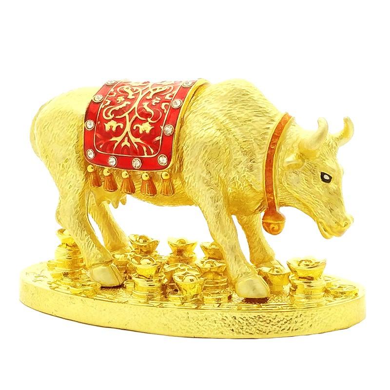 Golden Ox Finding Hidden Wealth Feng Shui Symbol for 2021