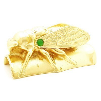 Golden Cicada for Protection and Immortality