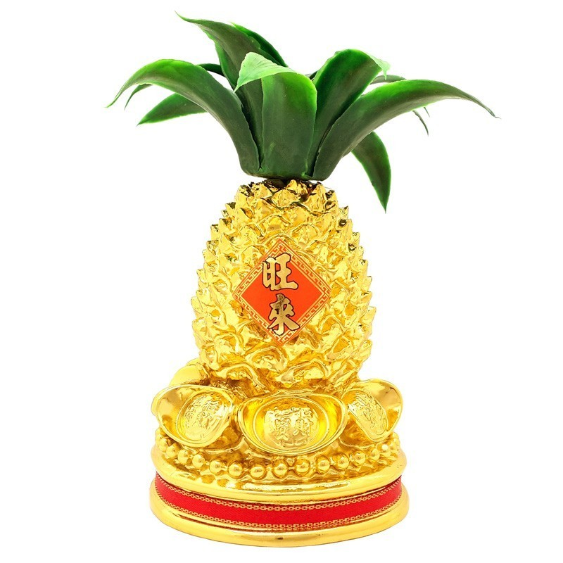Golden Pineapple With Ingots