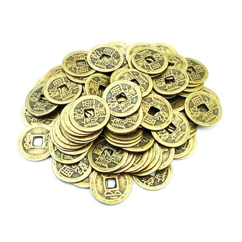 I-Ching Coins - 100 pcs per pack