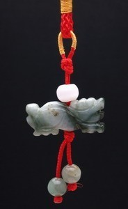 Jade Dragon Tassel