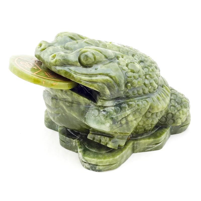 Jade Three Legged Toad