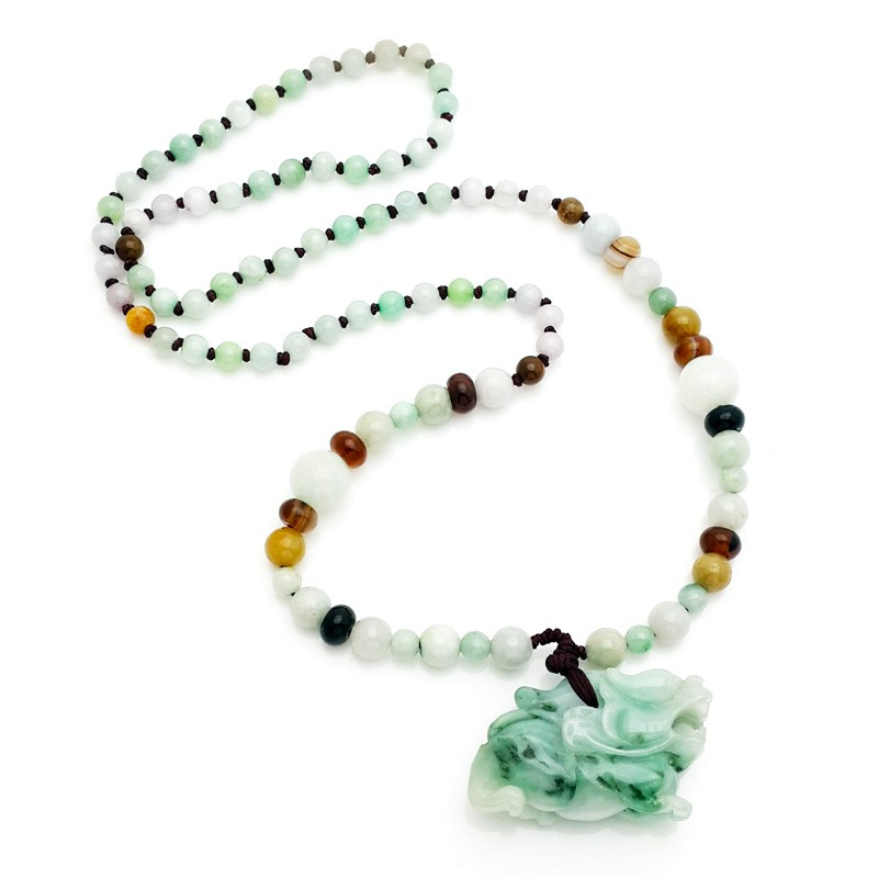 Jade Pi Yao Necklace For Protection and Good Fortune