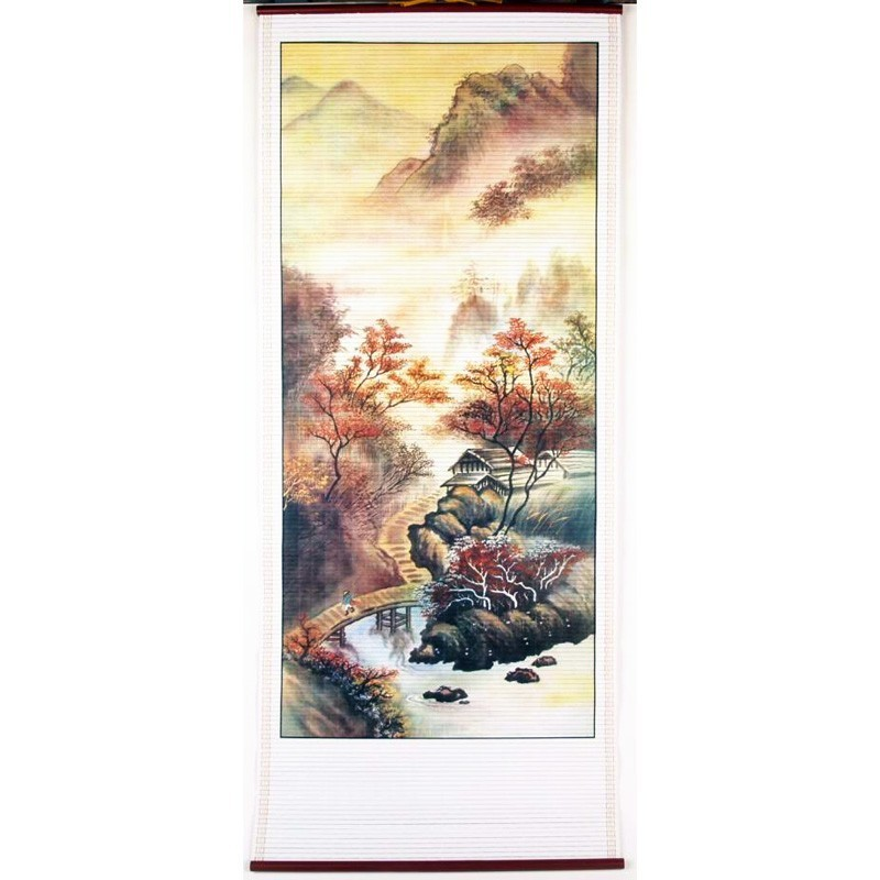 The Fortune Landscape Scroll - B