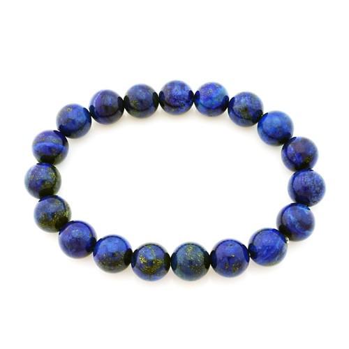 Lapis Lazuli Bracelet - 10mm