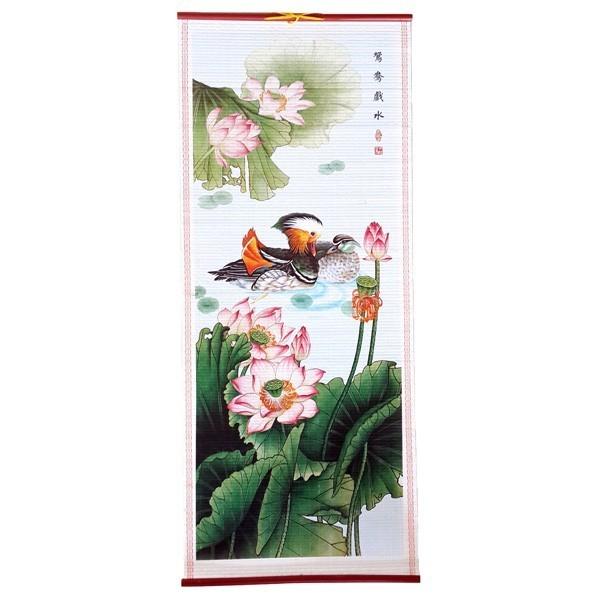 The Mandarin Ducks Scroll