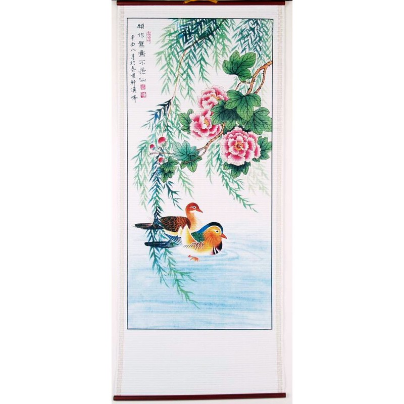 The Mandarin Ducks Scroll - A