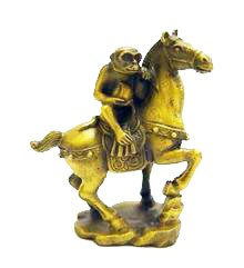 Auspicious Monkey on a Horse ( Special Offer )