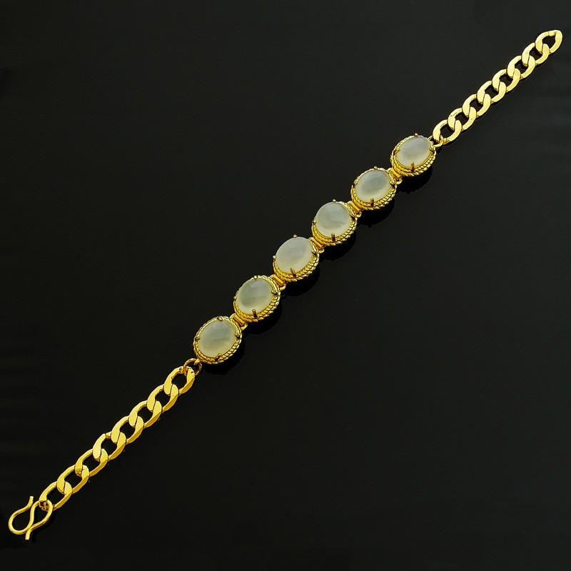 100% Natural REAL Jade Jadeite Lucky Charm Feng Shui Bracelet