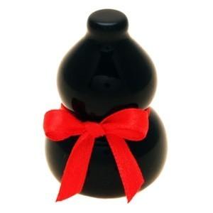 Natural Black Obsidian Wu Lou