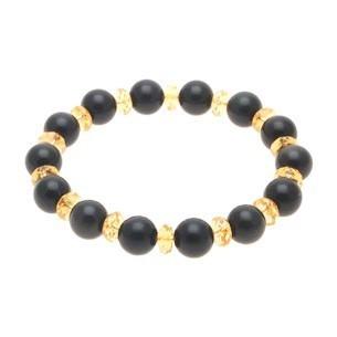 Obsidian Crystal Bracelet - 10mm